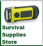 Crank Flashlights - Survival Supplies Store